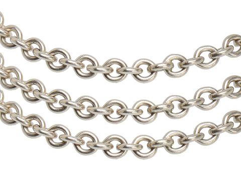 Endless Heavy Sterling Silver Chain