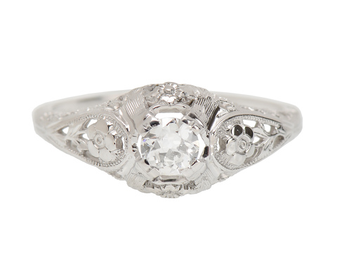 Engagement Promise - Vintage Diamond Ring