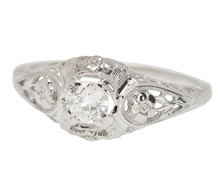 Engagement Promise - Vintage Diamond Ring