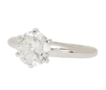 Tiffany Classic Antique Diamond Solitaire Ring