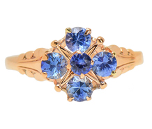 Blue Belle - Allure in a Sapphire Ring