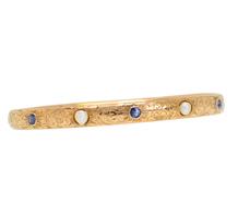 Signature Piece - Antique Sapphire Pearl Bracelet