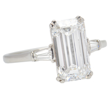 Magnificent 3.01 Cart D IF Diamond Ring