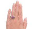 Carrera y Carrera Signed Ruby Pink Sapphire Ring