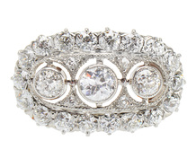 Antique Radiance in a Diamond Ring 2.53 C.