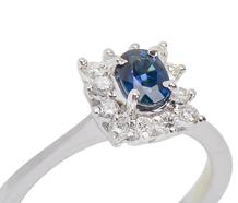 Starry Night - Sapphire Diamond Ring
