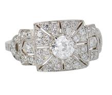 Platinum Paradise Diamond Ring