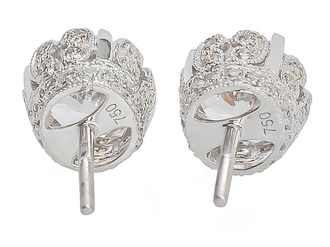 Fancy This - 5 C. Zircon Diamond Earrings