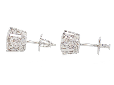 Fancy This - 5 C. Zircon Diamond Earrings