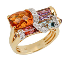 Bellarri Brilliance - Estate Ring of Many Gems
