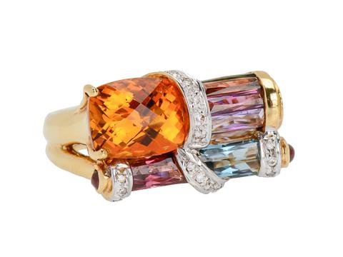 Bellarri Brilliance - Estate Ring of Many Gems