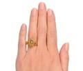 Lion Head Diamond Locket Ring