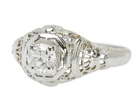 Merry Me - Diamond Engagement Ring