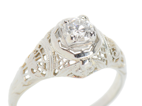 Merry Me - Diamond Engagement Ring
