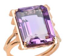 Hollywood & Grand - Vintage Amethyst Ring