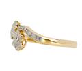 Flower 1920s Diamond Engagement Ring