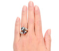 Black & Purple South Sea Pearl Ring