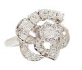 Flower Power - Vintage Diamond Cluster Ring