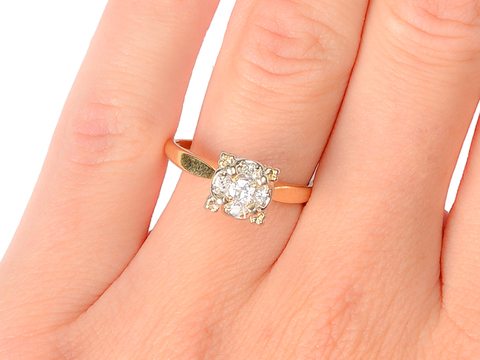 Forever More - Vintage Engagement Ring