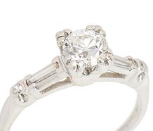 Classic Antique Diamond Engagement Ring