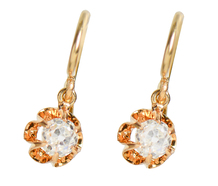 Beautiful Antique Diamond Earrings