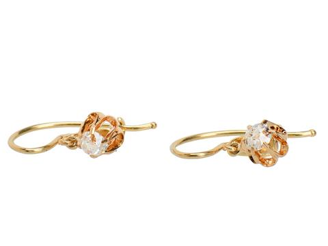Beautiful Antique Diamond Earrings