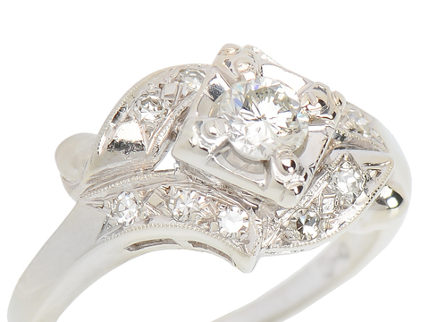All in One - Vintage Engagement Ring