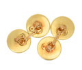 Smashing Diamond Set Gold Cufflinks