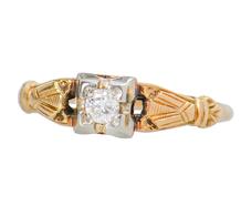 Wedding Day - Vintage Engagement Ring