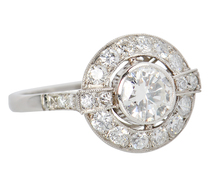 A Ring to Remember - Diamond Halo Ring