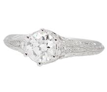 Dreams - Antique Diamond Engagement Ring .95 C