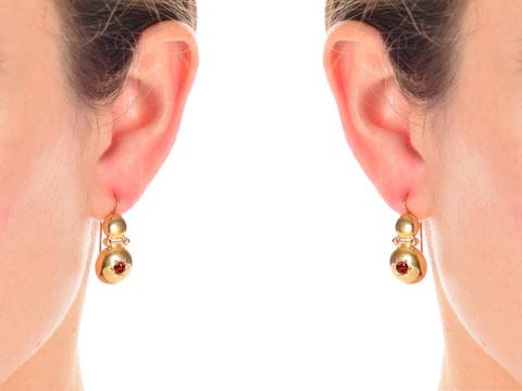 Victorian Archaeological Revival Earrings