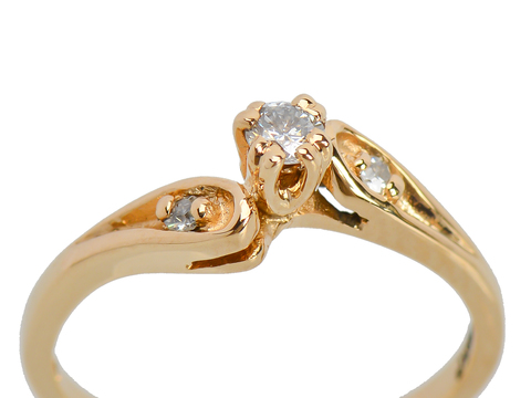 A Joining of Two - Vintage Engagement Ring