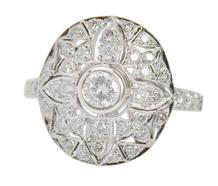 Patterns & Designs - Ornate Diamond Ring