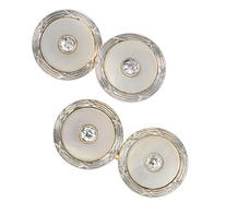 Carrington Diamond Cufflinks