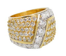Dramatic Dazzle - Over 5 Carat Diamond Ring
