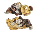 Antique Shakudo Japanese Cufflinks