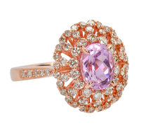 Must Have - Kunzite Diamond Ring