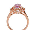Must Have - Kunzite Diamond Ring