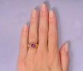 Edwardian No Heat Star Ruby Ring