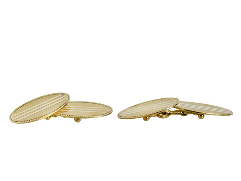 Dandyism - Art Deco Double Cufflinks