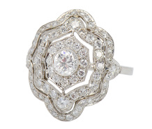 Sensual Appeal - Vintage Style Ring