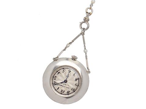Of An Era - Edwardian Platinum Diamond Watch