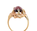 Art Nouveau Garnet Ring
