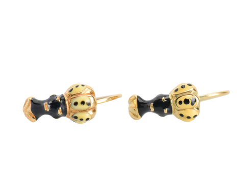Vintage Blackamoor Earrings - Venetian Dreams
