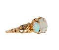 Vintage Glow - Opal Diamond Ring