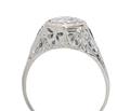 Glittering Art Deco Diamond Ring