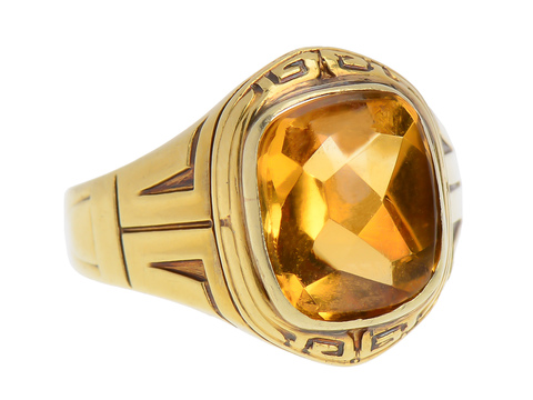 Larter & Sons Vintage Citrine Ring