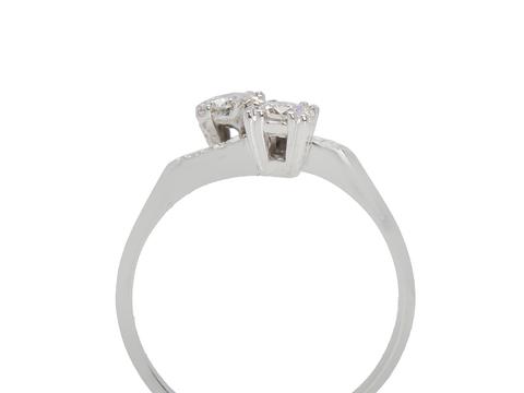 Vintage Moi et Toi Diamond Ring