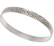 Vintage Danecraft Silver Bangle Bracelet